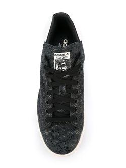 Кеды Stan Smith adidas Originals                                                                                                              черный цвет