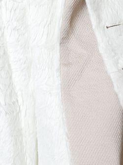 Удлиненный Пиджак С Фактурой Перьев Ann Demeulemeester                                                                                                              Nude & Neutrals цвет