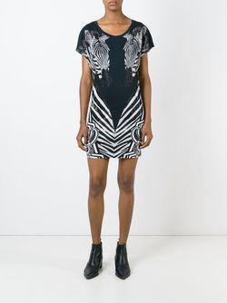 Платье Animal Philipp Plein                                                                                                              чёрный цвет