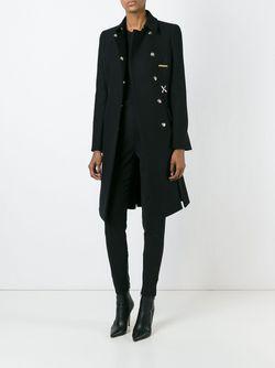 Classic Coat Versace                                                                                                              черный цвет