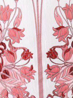 Жаккардовое Платье С Цветочным Узором GIAMBA                                                                                                              Nude & Neutrals цвет