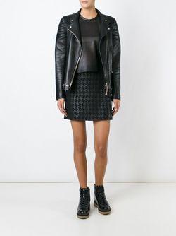 Houndstooth Skirt Muubaa                                                                                                              черный цвет