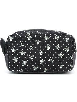 Skull Print Wash Bag Dolce & Gabbana                                                                                                              чёрный цвет