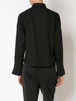 Укороченная Рубашка Jax STR M                                                                                                              черный цвет