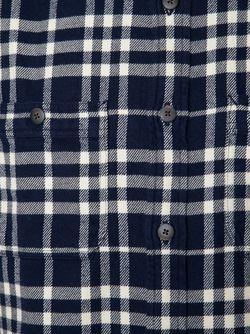 Indian Flannel Plaid Shirt ALEX MILL                                                                                                              синий цвет