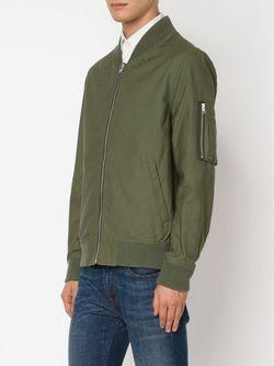 Двусторонняя Куртка-Бомбер FADELESS                                                                                                              зелёный цвет
