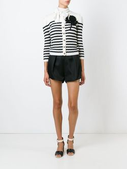 Striped Cardigan Red Valentino                                                                                                              белый цвет