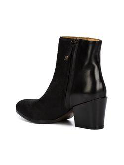 Ботинки По Щиколотку На Массивном Каблуке BUTTERO®                                                                                                              чёрный цвет