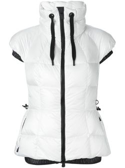 Padded Short Sleeve Jacket Moncler Grenoble                                                                                                              белый цвет
