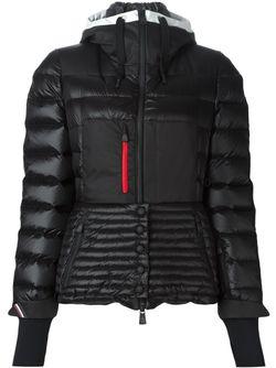 Hooded Fitted Padded Jacket Moncler Grenoble                                                                                                              чёрный цвет
