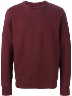 Свитер С Круглым Вырезом Paul Smith Jeans                                                                                                              красный цвет
