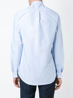 Рубашка С Воротником-Стойкой HARMONY PARIS                                                                                                              синий цвет