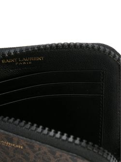 Кошелек Toile Monogram Saint Laurent                                                                                                              черный цвет
