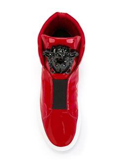 Хай-Топы Medusa Versace                                                                                                              красный цвет