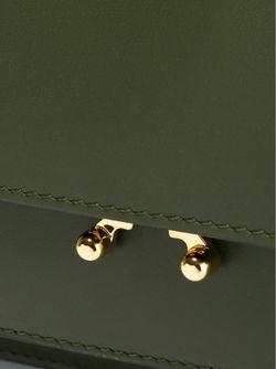 Сумка На Плечо Metal Trunk Marni                                                                                                              зелёный цвет
