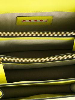 Сумка Metal Trunk На Плечо Marni                                                                                                              желтый цвет