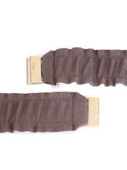 Эластичный Ремень С Пряжкой Giambattista Valli                                                                                                              серый цвет