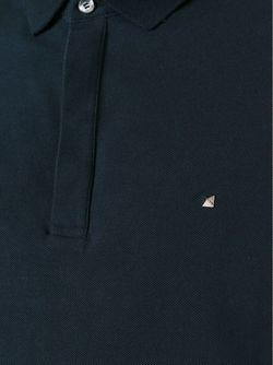 Футболка-Поло Rockstud Valentino                                                                                                              синий цвет