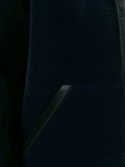 Бархатная Толстовка Мешковатого Кроя T By Alexander Wang                                                                                                              синий цвет
