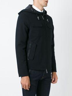 Куртка-Ветровка На Молнии Paolo Pecora                                                                                                              черный цвет