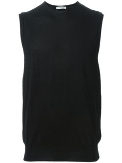 Классическая Безрукавка Paolo Pecora                                                                                                              черный цвет