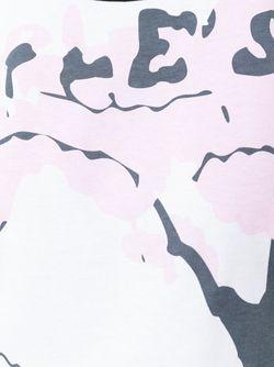 Футболка С Абстрактным Принтом J.W. Anderson                                                                                                              белый цвет