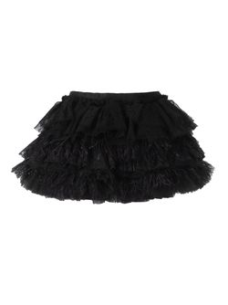 Ruffled Feather Short Skirt Faith Connexion                                                                                                              чёрный цвет