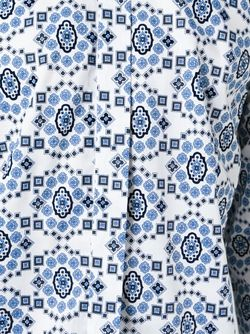 Floral Print Shirt Etro                                                                                                              синий цвет