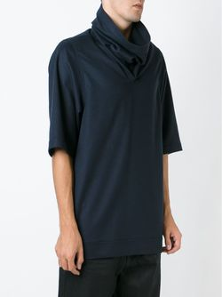 Funnel Neck Knit Top Rick Owens                                                                                                              синий цвет