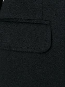 Однобортное Пальто Dolce & Gabbana                                                                                                              черный цвет