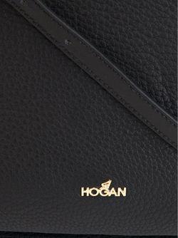 Сумка С Логотипом Hogan                                                                                                              черный цвет