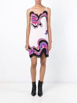 Printed Slip Dress Emilio Pucci                                                                                                              розовый цвет