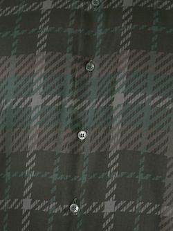 Рубашка В Клетку Etro                                                                                                              серый цвет