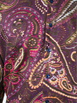 Рубашка С Принтом Пейсли Etro                                                                                                              розовый цвет