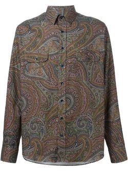Рубашка С Принтом Пейсли Etro                                                                                                              многоцветный цвет