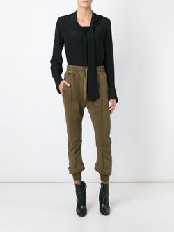 Cropped Track Pants Haider Ackermann                                                                                                              зелёный цвет