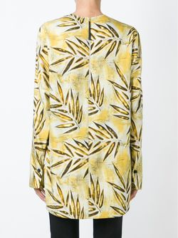 Leaf Print Top Marni                                                                                                              желтый цвет