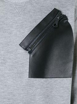 Толстовка Rockstud С Карманом На Молнии Valentino                                                                                                              серый цвет