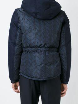 Дутая Куртка Gary Moncler                                                                                                              синий цвет