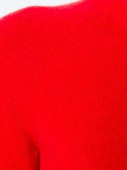 Свитер С Круглым Вырезом Equipment                                                                                                              красный цвет