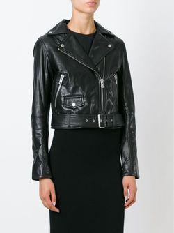 Байкерская Куртка Muubaa                                                                                                              черный цвет