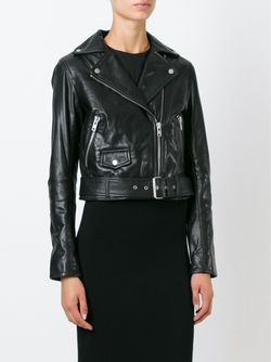 Байкерская Куртка Muubaa                                                                                                              чёрный цвет