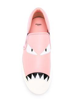 Кеды Bag Bugs Fendi                                                                                                              розовый цвет