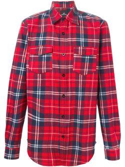 Рубашка В Клетку LES ARTISTS                                                                                                              красный цвет