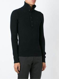 Свитер В Рубчик Dolce & Gabbana                                                                                                              черный цвет