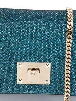 Сумка Ruby Через Плечо Jimmy Choo                                                                                                              синий цвет