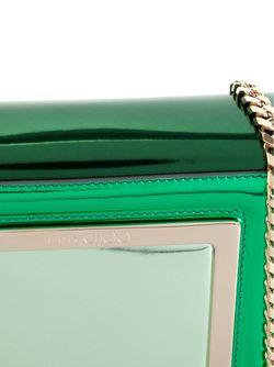 Клатч С Эффектом Металлик Ava Jimmy Choo                                                                                                              зелёный цвет