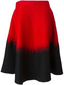 Расклешенная Юбка С Эффектом Градиент Sybilla                                                                                                              красный цвет