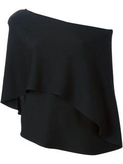Топ Нп Одно Плечо Sybilla                                                                                                              чёрный цвет