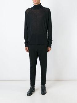 Свитер С Высоким Горлышком Haider Ackermann                                                                                                              черный цвет